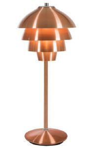 Valencia - table lamp, copper. Made in Sweden by Belid
