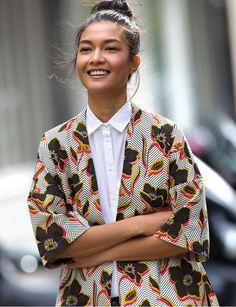 Pimkie x Nash Prints kimono