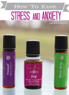Ease Stress abd Anxiety with Essential Oils (CyndiSpivey). This would be a great gift for my friend Kim :)