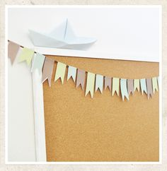 DIY - Paper Bunting Tutorial