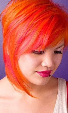 You Cant Talk Orange Hair Without A Bit Of Hayley Williams