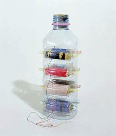 50 Objetos útiles y creativos hechos con botes de plástico (PET). - Vida Lúcida 50 Useful objects made out of plastic pots and bottles