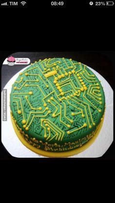nerd cakes circuit board