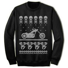 Motorcycle Christmas Sweatshirt