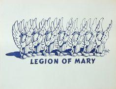 Legion of Mary Handbill 1974
