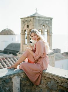 This Boheme Elopement from Monemvasia will take your breath away! In this article, explore the medieval city of Monemvasia through this bridal editorial! Elopement Inspiration, Destination Weddings, Greece, Bridal, Brides, Bride, Wedding Dress, Grease, The Bride