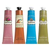 Crabtree& Evelyn hand therapy line!  My fav is the Citron!!  The hand remedy is awesome too!