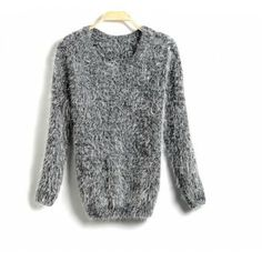 2013 new relaxed classic soft mohair sweaters