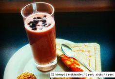 Reggeli smoothie alma-répa puffancsal