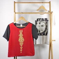 Star Wars Queen Amidala inspired tops by Fashions For Fans and Forever 21 ⭐️The Kessel Runway ⭐️ Star Wars fashion ⭐️ Geek Fashion ⭐️ Star Wars Style ⭐️ Geek Chic ⭐️
