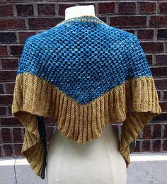 Ravelry: Pleated Lattice Shawl pattern by Dana Freed