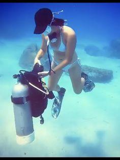 Mermaid Cove, Scuba Diving, Deep, Water, Girls, Diving, Water Water, Aqua, Daughters
