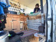 Hannah's van home