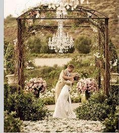 Outdoor wedding beautiful