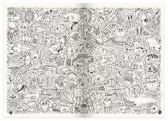 Pages On A Theme - Kristyna Baczynski   Illustration, Comics & Design