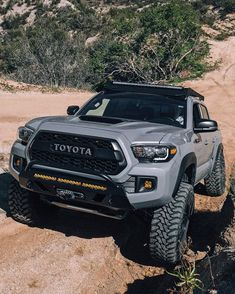 """9 Beast Toyota SUV You Would Love Off Roading! Expect new levels of innovation and legendary reliability from Toyota SUV models. See which luxury Toyota SUV has redefined \""""roughing it\"""". Toyota Hilux, Toyota 4x4, Toyota Autos, Toyota Tacoma Trd Pro, Toyota Trucks, Tacoma Pro, Blue Tacoma, 4runner Trd Pro, Toyota Cars"""