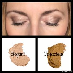 Two of my favorite cream shadows from Younique!