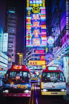 Kowloon mini buses, Hong Kong
