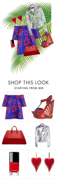 """""""Untitled #49"""" by pesanjsp ❤ liked on Polyvore featuring Edit, Dolce&Gabbana, Dsquared2 and Chanel"""