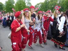Russ celebration #Norway