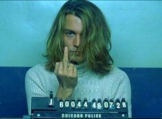 """Johnny Depp George Jacob Jung was Johnny Depp's real-life cocaine-dealing inspiration for the movie """"Blow"""" and he is still locked up in prison. Johnny Depp Blow, Here's Johnny, Johnny Depp Personajes, Johnny Depp Characters, John Depp, Celebrity Mugshots, The Lone Ranger, Gary Oldman, Dancing With The Stars"""