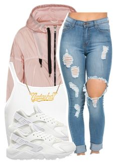 """""""3/26/16"""" by lookatimani ❤ liked on Polyvore featuring FAY, Topshop and NIKE"""