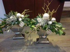 Jídlo a floristika / Zboží Christmas Design, Christmas 2017, Christmas Diy, Christmas Arrangements, Flower Arrangements, Very Merry Christmas, Christmas Lights, 17th Birthday Gifts, Deco Table Noel