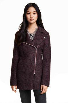 Palton din amestec de lână | H&M
