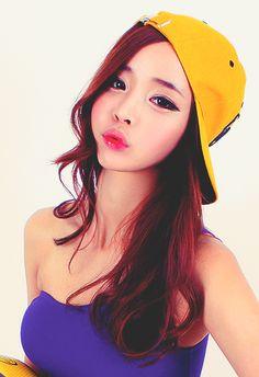 Song Ah Ri ~ ♥ | via Tumblr