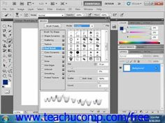 Learn how to set dual brushes in Adobe Photoshop at www.teachUcomp.com. A clip from Mastering Photoshop Made Easy v. CS5. http://www.teachucomp.com/free - the most comprehensive Photoshop tutorial available. Visit us today!