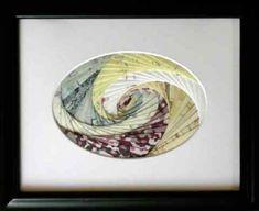 Ron's Crafts - In a Galaxy Near You - Iris Folding