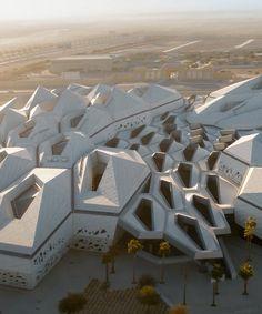 King Abdullah Petroleum Studies & Research Centre in Riyadh by Zaha Hadid Architects