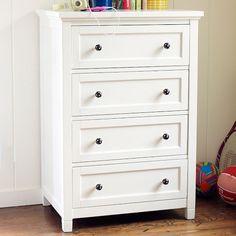 Beadboard 4-Drawer Dresser   PBteen