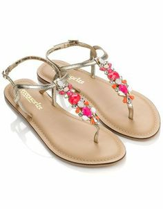 Stone Thong Sandals
