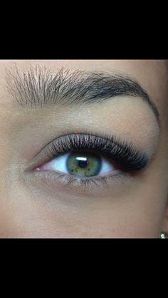 Bildresultat för eyelash extension before after