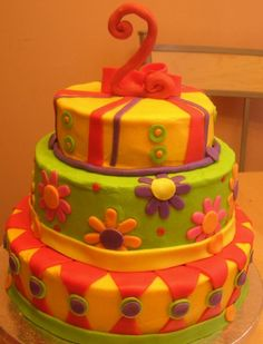 So many cute cakes for 2-year-olds