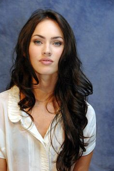 bangs hair style megan fox hair on megan fox makeup megan fox 2421
