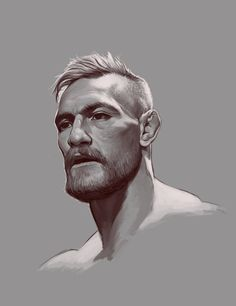 Head study of my favorite fighter of all time