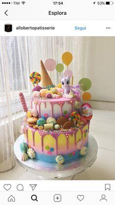 Candyland/ MLP cake