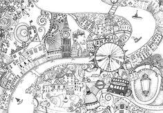 Die Themse und London
