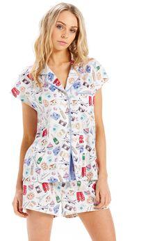 Shop the Pyjama King's range of women's pyjama sets online. PJ sets in classic & fashion styles in cotton, flannelette, satin & more. Kids Pajamas, Pajamas Women, Pjs, Womens Pyjama Sets, Men Online, Sleepwear Women, Pj Sets, Pajama Set