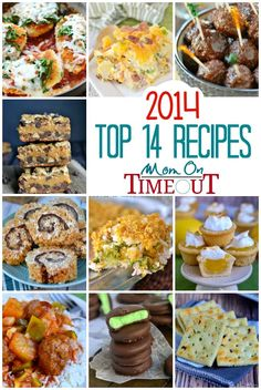 The Most Popular Recipes on Mom On Timeout for 2014!! | MomOnTimeout.com| #roundup #recipe