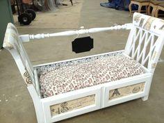Dog bed Made from large dresser drawer