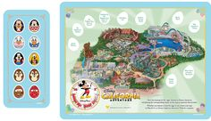Map of Disneyland