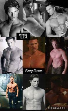 Hospital Tv Shows, General Hospital, Pretty Men, Gorgeous Men, Steve Burton, Robert Conrad, Kelly Monaco, Tiger Beat, Soap Opera Stars