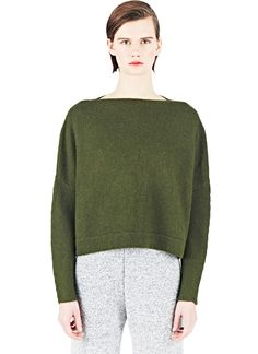 Lauren Manoogian Knitted Boat Neck Sweater