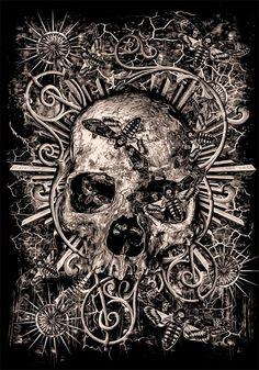 Skull by bloodboy