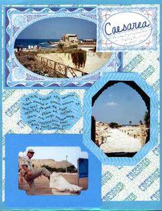 scrapbook supplies israel jewish holy land printable