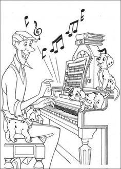 101 dalmatians coloring pages 19