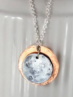Short Pendant - eclipse pendant by VIDA VIDA
